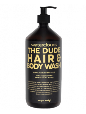 Waterclouds The Dude Hair & Body Wash -1000ml