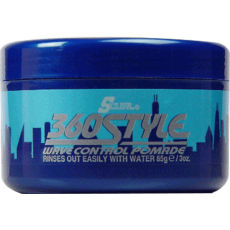 Luster's S Curl 360 Style Wave Control Pomade