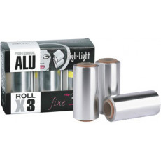 Sibel High-Light Aluminium Folie 3 Rollen 12 micron 12cm