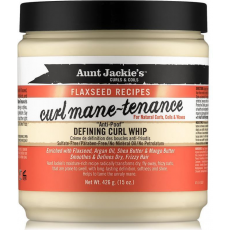 Aunt Jackie's Flaxseed Curl Mane-Tenance Defining Curl Whip