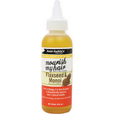 Aunt Jackie's Natural Growth Oil Blends Nourish My Hair Flaxseed & Monoi