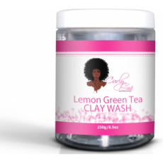 Curly Secret Lemon Green Tea CLAY WASH