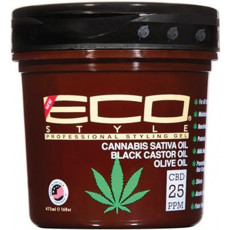 Eco Style Cannabis Sativa Oil Styling Gel