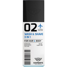 Hairways 02 Wash & Shave 3 in 1