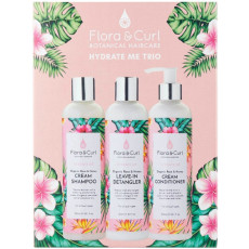 Flora & Curl Hydrate Me Trio Gift Set