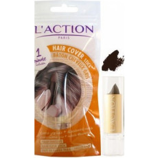 L'Action Haarkleur Stick Zwart