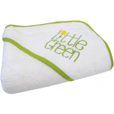 Little Green Hooded Towel