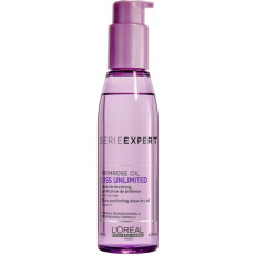 L'Oreal Serie Expert Liss Unlimited Blow-dry Oil 125ml