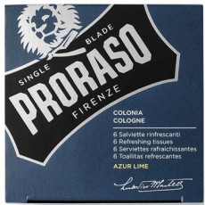 Proraso Azur Lime Refreshing Tissues