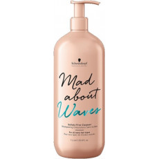 Schwarzkopf Mad About Waves Sulfate Free Cleanser