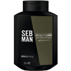 SEB MAN The Multi-Tasker 3-in-1 Hair, Beard and Body Wash