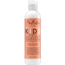 Shea Moisture Coconut & Hibiscus Kids 2-in-1 Curl & Shine Shampoo & Conditioner