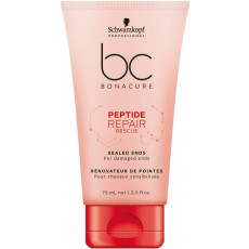 Schwarzkopf Bonacure Peptide Repair Rescue Sealed Ends - 75ml