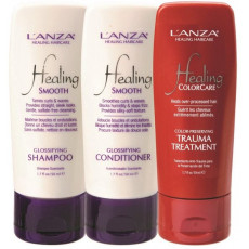 L'Anza Healing Smooth Travelset