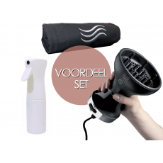 Voordeelset Diffon, Extreme Mist waterspuit & The Hair Towel