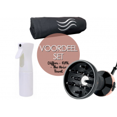 Voordeelset My Pro Diffon Ceramic, Extreme Mist & The Hair Towel