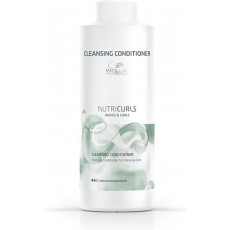 Wella Nutricurls Waves & Curls Cleansing Conditioner - 1000ml
